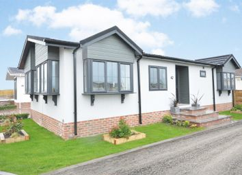 Thumbnail 2 bed mobile/park home for sale in Tollerton Park, Tollerton Lane, Tollerton, Nottingham