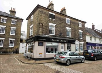 Thumbnail 1 bed flat to rent in Market Place, Saxmundham, Suffolk