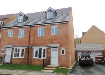 Thumbnail 4 bed semi-detached house to rent in Scarsdale Way, Grantham