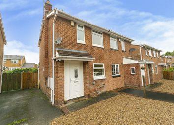 Shelton Avenue, Hucknall, Nottinghamshire NG15. 2 bed semi-detached house