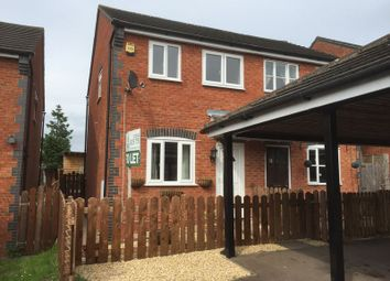 Thumbnail 2 bed semi-detached house to rent in Hopes Close, Lydney