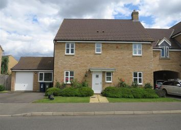 Thumbnail 4 bed link-detached house for sale in Shackleton Way, Yaxley, Peterborough