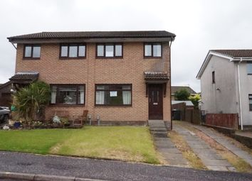 Thumbnail 3 bed semi-detached house for sale in Wellyard Way, Greenock