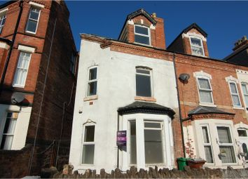 Thumbnail 3 bed end terrace house for sale in Lake Street, Nottingham
