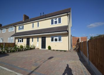 Thumbnail 3 bed end terrace house to rent in Rodney Way, Romford, Essex