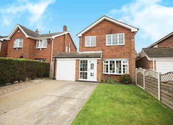 Thumbnail 3 bed detached house for sale in Jumelles Drive, Calverton, Nottinghamshire