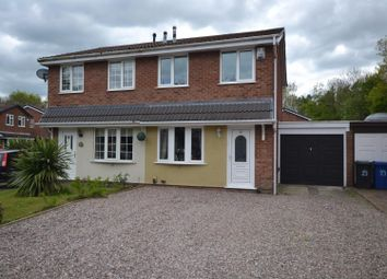 Thumbnail 2 bed semi-detached house for sale in Morton Close, Old Hall, Warrington