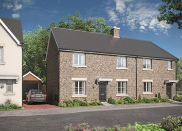 Thumbnail 3 bedroom semi-detached house for sale in Russet Court, Kingswood, Wotton-Under-Edge