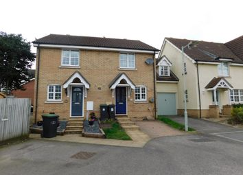 Thumbnail 2 bed end terrace house to rent in Nightingale Close, Stowmarket