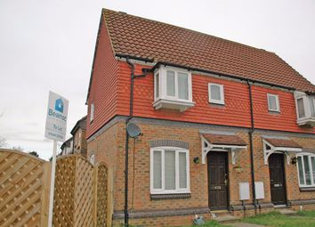 Thumbnail 1 bed semi-detached house to rent in Parry Drive, Weybridge