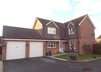Thumbnail 4 bed detached house for sale in Field Road, Billinghay, Lincoln
