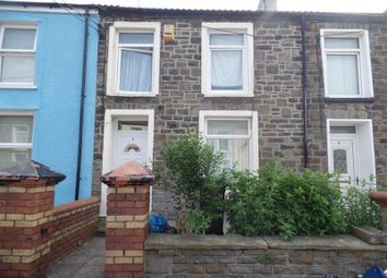 Thumbnail 3 bed terraced house for sale in William Street, Twynyrodyn, Merthyr Tydfil