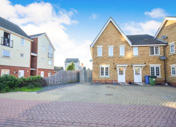 Thumbnail 3 bed end terrace house for sale in Bismuth Drive, Sittingbourne