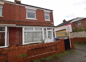 Thumbnail 3 bed semi-detached house to rent in Nuttall Road, Blackpool