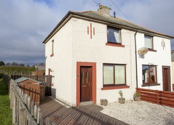 Thumbnail 2 bed semi-detached house for sale in Sunnyside Crescent, Spittal, Berwick Upon Tweed, Northumberland