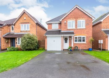 Thumbnail 4 bed detached house for sale in Glean Close, Broughton Astley, Leicester