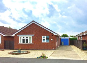 Thumbnail 2 bed detached bungalow for sale in Marine Avenue West, Sutton On Sea, Lincolnshire.
