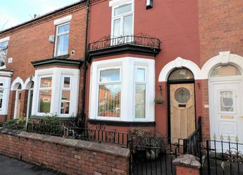 Thumbnail 2 bed terraced house to rent in May Grove, Levenshulme, Manchester
