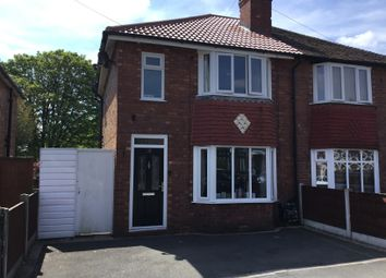 Thumbnail 3 bedroom semi-detached house to rent in Beech Avenue, Hazel Grove, Stockport