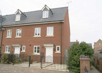 Thumbnail 3 bed town house to rent in Stonechat Road, Rugby