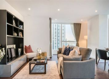 Thumbnail 1 bedroom flat to rent in Ostro Tower, 32 Harbour Way