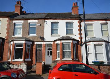 Thumbnail 2 bed terraced house for sale in Queensland Avenue, Chapelfields, Coventry
