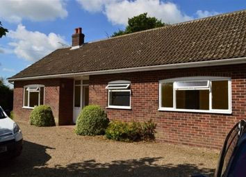 Thumbnail 3 bed bungalow to rent in Tunstall Road, Tunstall, Norwich