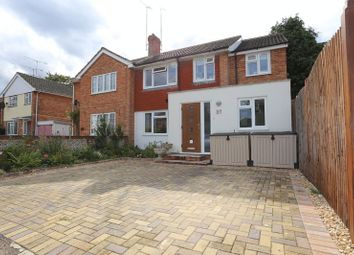 Thumbnail 4 bedroom semi-detached house for sale in Quentin Road, Woodley, Reading