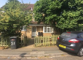Thumbnail 2 bed town house to rent in Dorrington Close, Luton