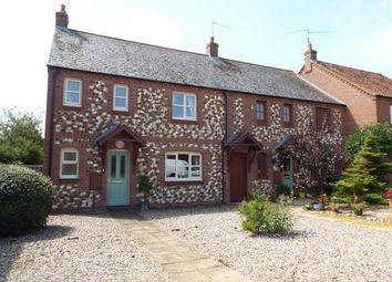 Thumbnail 3 bed end terrace house for sale in Sedgeford, Hunstanton, Norfolk