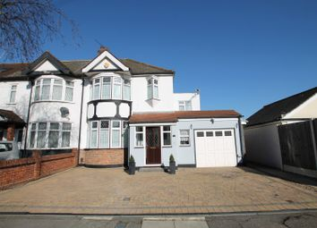 Thumbnail 4 bed semi-detached house for sale in Dunmow Drive, Rainham