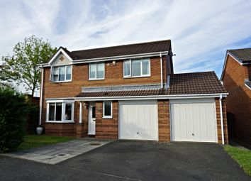 Thumbnail 4 bed detached house for sale in Chigwell Close, Houghton Le Spring