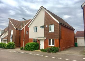 Thumbnail 4 bedroom detached house for sale in Corfe Meadows, Broughton, Milton Keynes, Buckinghamshire
