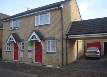 Thumbnail 2 bed semi-detached house for sale in Chaser Close, Ipswich