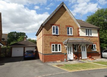 Thumbnail 3 bed semi-detached house for sale in Holliday Close, Swindon