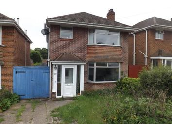 Thumbnail 3 bedroom detached house for sale in Harefield, Southampton, Hampshire