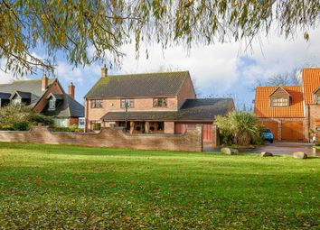 Thumbnail 4 bed detached house for sale in The Leam, Friday Bridge, Wisbech