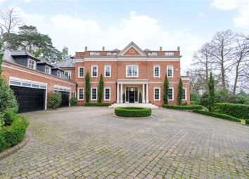 Thumbnail 7 bedroom detached house for sale in Yaffle Road, St. George's Hill, Weybridge, Surrey