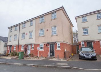 Thumbnail 4 bed end terrace house for sale in The Birches, Plymouth