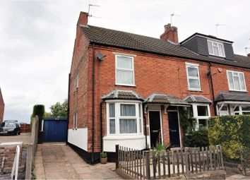 Thumbnail 2 bedroom end terrace house for sale in Ashby Road, Kegworth