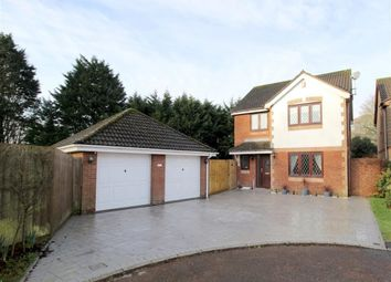 Thumbnail 4 bed detached house for sale in Oaktree Court, Crownhill, Plymouth