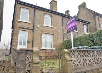 Thumbnail 2 bedroom end terrace house for sale in Longwood Road, Huddersfield