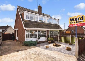 Thumbnail 3 bed semi-detached house for sale in The Rise, Ashford, Kent