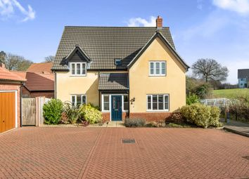 Thumbnail 4 bed detached house for sale in Jobie Wood Close, Norwich