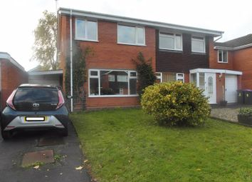 Thumbnail 3 bed semi-detached house to rent in Mulberry Close, Church Aston, Newport