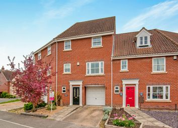 Thumbnail 3 bedroom town house for sale in Whitebeam Crescent, Watton, Thetford