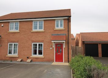 Thumbnail 3 bed semi-detached house for sale in Swan Way, Sowerby, Thirsk