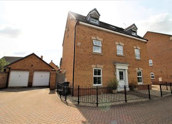 Thumbnail 5 bedroom detached house for sale in Queen Elizabeth Drive, Taw Hill, Swindon