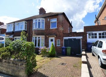 Thumbnail 3 bed semi-detached house for sale in Vancouver Drive, Cochrane Park, Newcastle Upon Tyne