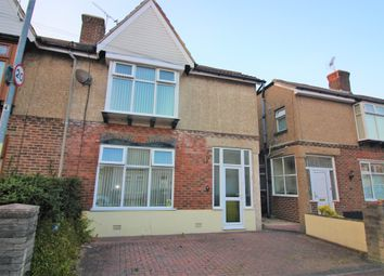 Thumbnail 3 bed semi-detached house for sale in Keswick Avenue, Portsmouth